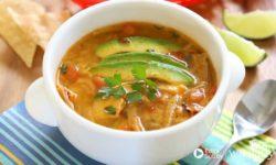 Món ăn Keto: Hướng dẫn làm món súp gà Tortilla