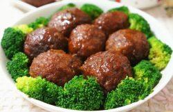 Làm món thịt viên áp chảo thơm ngon – đậm vị