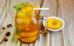 Cách pha trà đào cực ngon, cực dễ dàng!