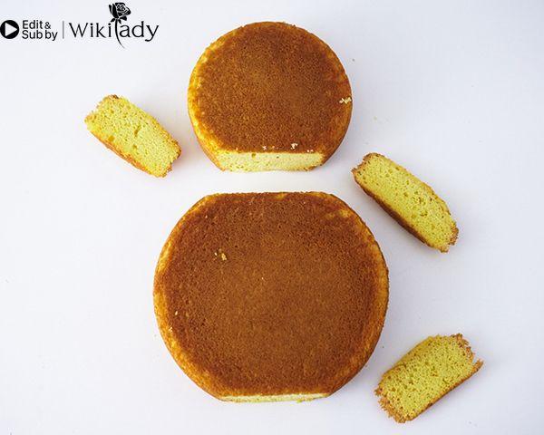 trang trí bánh kem hình búp bê Nga 6