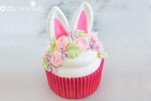 trang trí bánh con thỏ 14