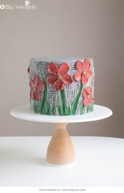 Cách trang trí bánh kem đẹp xinh chỉ với nĩa, dao chà láng...ngạc nhiên chưa?