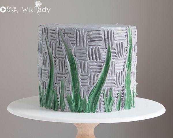 trang trí bánh kem bằng nĩa và cây chà láng 15