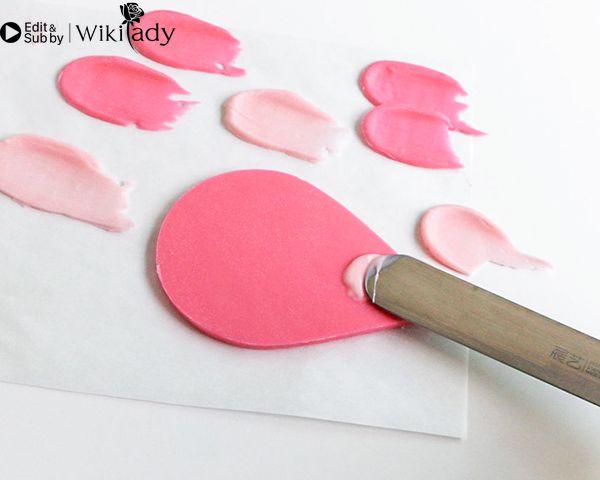 Cách trang trí bánh kem hồng hạc 25