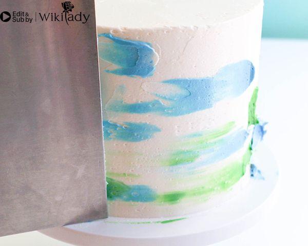 Cách trang trí bánh kem hồng hạc 30