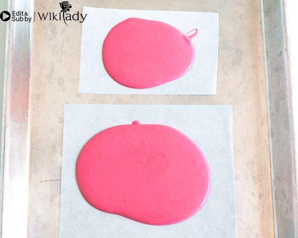 Cách trang trí bánh kem hồng hạc 3
