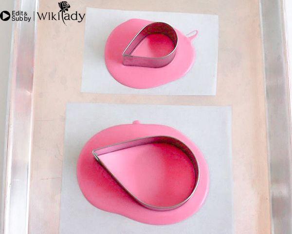 Cách trang trí bánh kem hồng hạc 4
