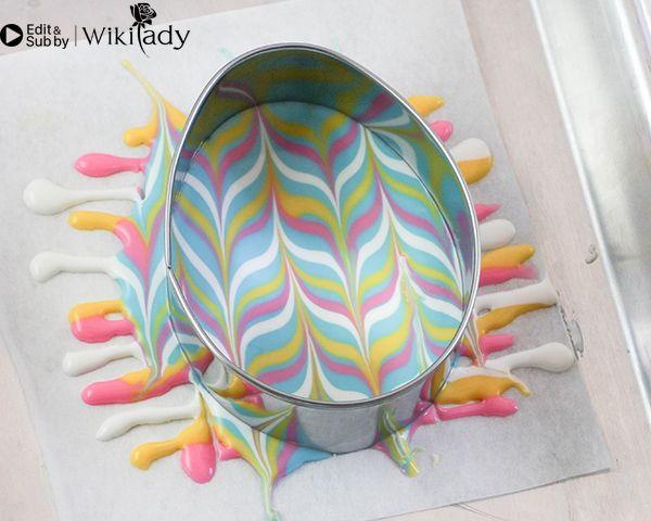 sô cô la nhiều màu trang trí bánh 15
