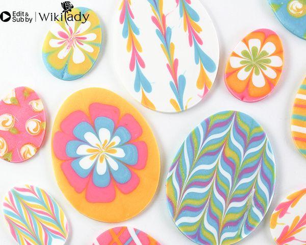 sô cô la nhiều màu trang trí bánh 17