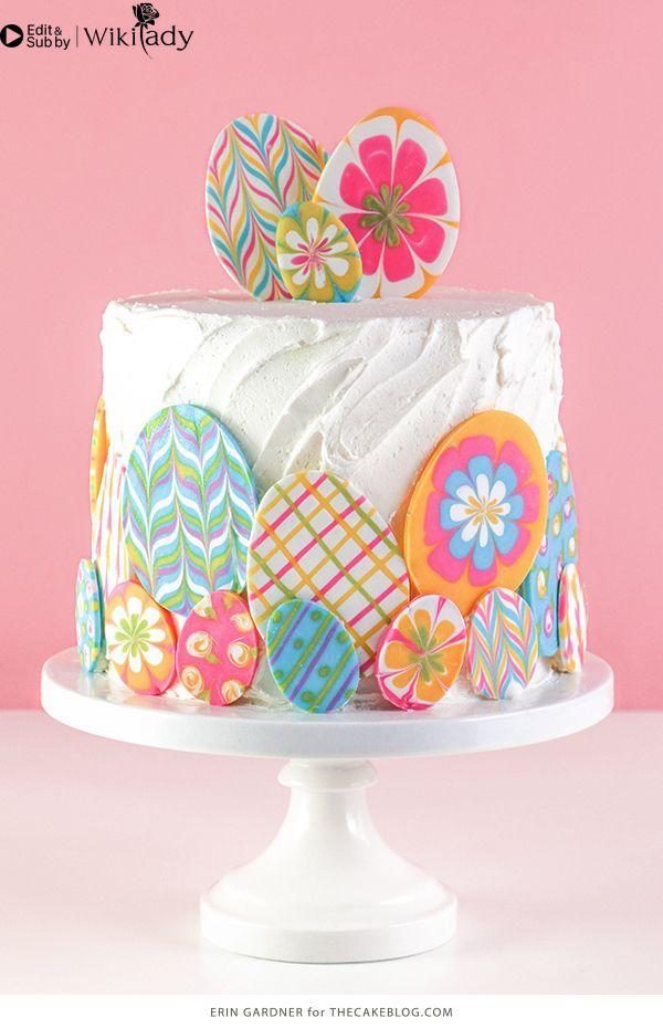 sô cô la nhiều màu trang trí bánh 18