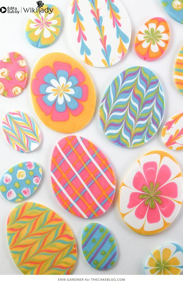 sô cô la nhiều màu trang trí bánh 3