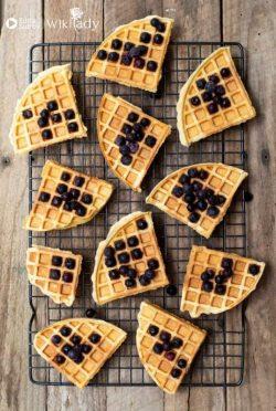 Bí quyết làm bánh bơ nướng tổ ong waffle cùng máy Thermomix