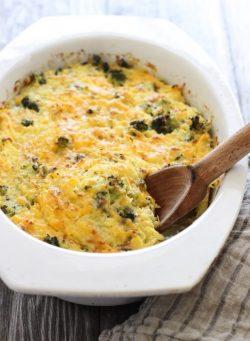 Món Lowcarb: Bông cải xanh trộn Spaghetti squash và phô mai