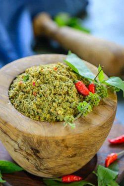 Công thức tự làm bột cà ri xanh Thái Lan chuẩn vị