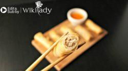 Cách làm món chả giò Việt Nam giòn, vàng ruộm thơm ngon