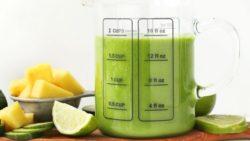 Smoothie xanh: dứa - chuối - dưa leo ngăn ngừa ung thư