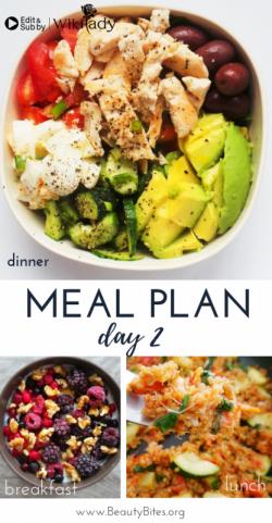 Chế độ 7 ngày Eat Clean: Dinh dưỡng với sữa chua, cơm và salad (Ngày 2)
