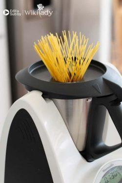 Nấu mì ống spaghetti  thật dễ dàng với máy Thermomix