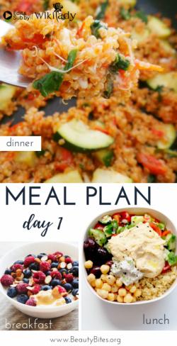 Chế độ 7 ngày Eat Clean: Rau củ quả thuần chay (Ngày 1)