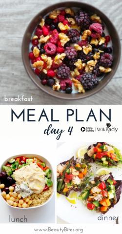 Chế độ 7 ngày Eat Clean: Bổ sung dưỡng chất cho cơ thể (Ngày 4)