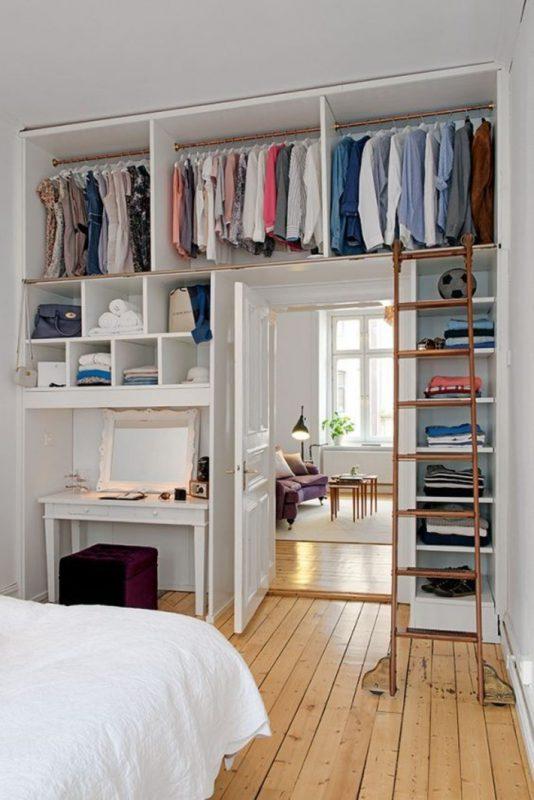 Mẹo sắp xếp ngăn lắp khi bạn quá nhiều quần áo đồ đac