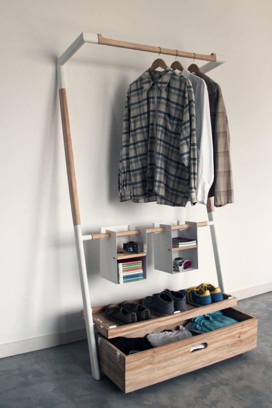 Mẹo sắp xếp quần áo sáng tạo cho không gian nhỏ