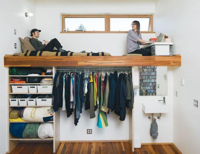 Mẹo tận dụng không gian để đồ cho căn phòng nhỏ