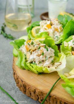 Món Lowcarb: Mê mệt với món xà lách cuộn salad gà