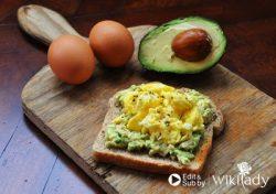 Món ăn Eat Clean: Bánh mì nướng bơ - trứng nhanh và ngon