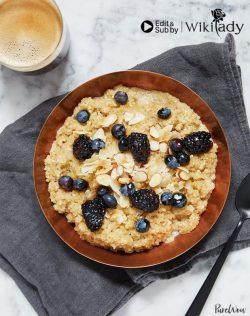 Món ăn Eat Clean: Yến mạch Quinoa và sữa hạnh nhân