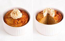 Cách làm bánh Keto Mug cake bí đỏ bổ dưỡng