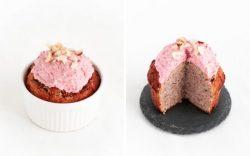Bánh Keto: Mug cake vị dâu và hạt chia ngon khó cưỡng