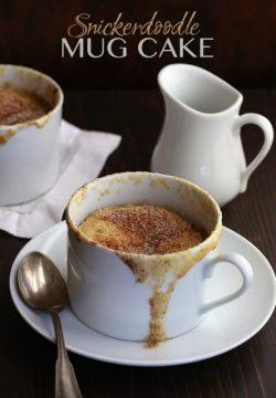 Cách làm bánh Keto/Lowcarb: Mug cake vị quế thơm nồng nàn