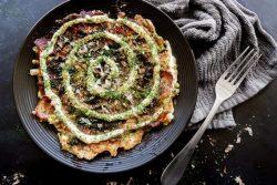 Món ăn Keto: Bánh xèo Okonomiyaki Nhật Bản