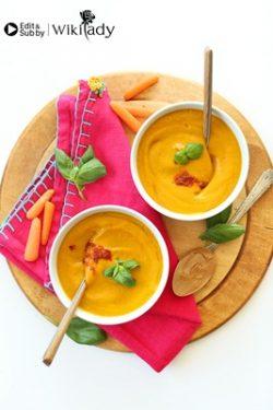 Món ăn Eat Clean: Súp kem cà rốt dinh dưỡng vừa đẹp vừa ngon