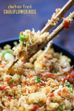 Cách làm cơm súp lơ gà chiên – bữa ăn Lowcarb hoàn hảo