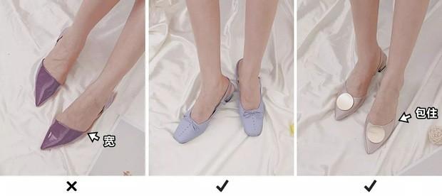 Loại giày dép cho chị em có bàn chân thô