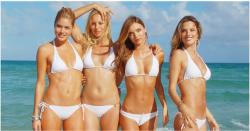 """Học giữ dáng kiểu """"siêu mẫu"""" để diện bikini thon thả"""