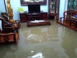 Cách khắc phục nhà bị ngập nước sau mưa bão