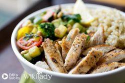 Món ăn Eat Clean: Độc đáo với bữa ăn hạt diêm mạch Quinoa Bowl