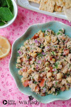 Món ăn Eat Clean: Salad cá ngừ và đậu gà giàu dưỡng chất