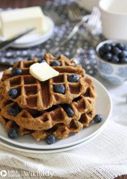 Món ăn Eat Clean: Bánh waffle khoai tây ngọt ngào