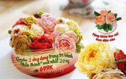 """Ưu đãi 65% học phí kèm quà tặng hấp dẫn khi mua combo khóa học Online ứng dụng trang trí bánh """"thần thánh"""" cùng giảng viên Hải Nguyễn"""