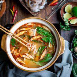 Cách nấu lẩu Thái cay đơn giản tại nhà