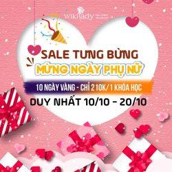 10 Ngày vàng sale đồng giá 210k tri ân Ngày phụ nữ Việt Nam 20/10