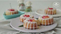 Công thức làm bánh bông lan cherry đơn giản, ngon nức nở