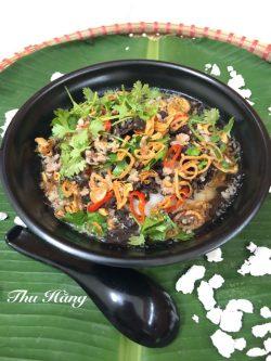 Bánh đúc nóng: Món ăn mang trời thu Hà Nội vào căn bếp