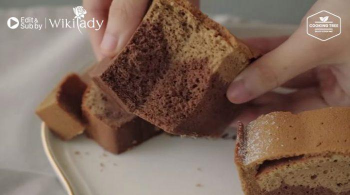 cách làm bánh Mocha Castella