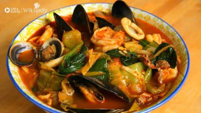 Súp hải sản kiểu Hàn