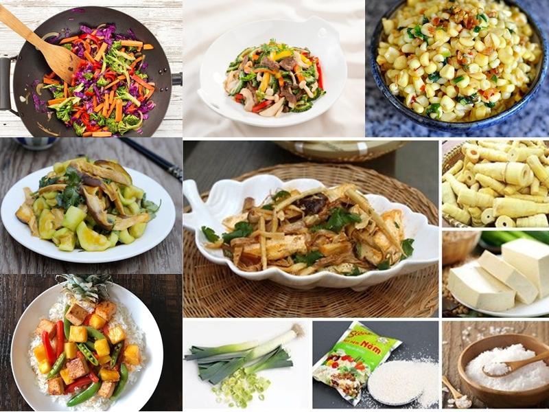 Tổng hợp cách làm các món xào chay dễ làm tại nhà ngon khó cưỡng - Wikilady Blog